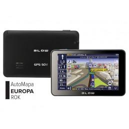 Nawigacja GPS BLOW GPS50V + AutoMapa EU 1rok
