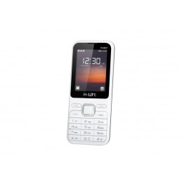 Telefon GSM M-LIFE ML600 biały / ML0697W