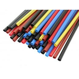 Rurka termokurczliwa 6,4mm/3,2mm - 1m / kolor