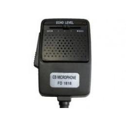 CB mikrofon FD1818 6-pin (echo - wzmocnienie) - LxCB233