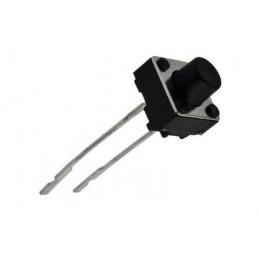 Mikroprzycisk 6x6x 6/2,5mm 2-nogi / 22569