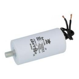Kondensator rozruchowy 6uF/450V AGD z przewodami