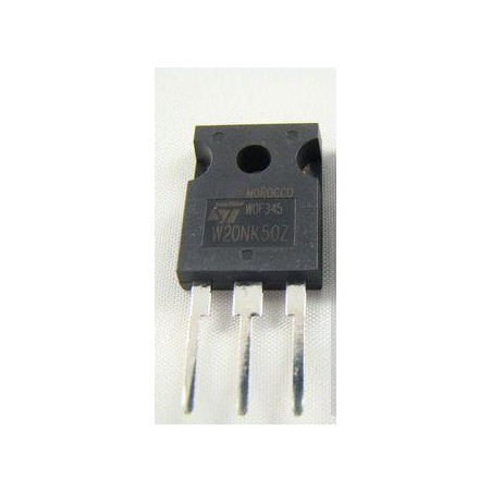 Tranzystor STW20NK50Z N-MOSFET 500V 17A 190W TO247