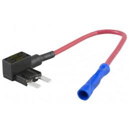 Szybkozłączka - BYPASS gniazda bezpiecznika samochodowego mini 11mm