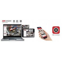 Rejestrator CCTV 4-kanałowy Hikvision HWD-5104 AHD/CVI/TVI+1IP 2MPix