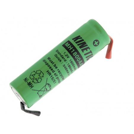 Akumulator R6 1,2V 1,8Ah 14x50mm NiMh AA do lutowania