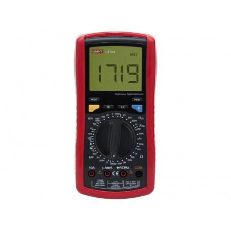 Miernik UT70A UNI-T uniwersalny V/A/mH/uF/Temp/Hz