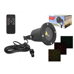 Projektor laserowy LED z sensorem zmierzchu / LxAS217