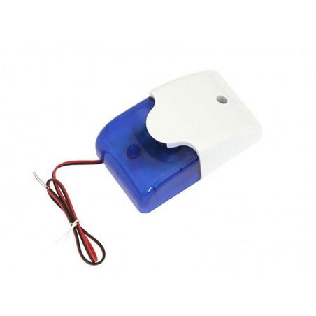 Sygnalizator optyczno-akustyczny AS7016 (niebieski) / 26-416