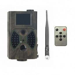 Kamera leśna FOTOPUŁAPKA FULL HD 1080p + GPRS MMS / HC-300M