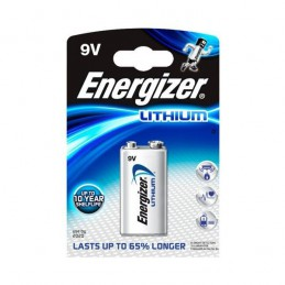 Bateria 9V 6LR61 ENERGIZER litowa
