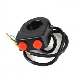Przełącznik świateł podwójny ON-OFF do roweru/quada / PRZEL609