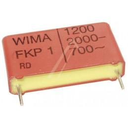 Kondensator 1,2nF/2000V MKT 1N2/2kV