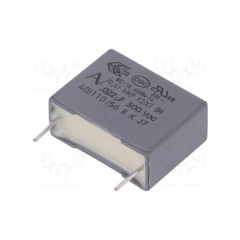 Kondensator 22nF/300V MKT 22N/300V / R413I22200000M