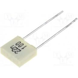Kondensator 22nF/100V MKP 22N/100V / MC5-22N