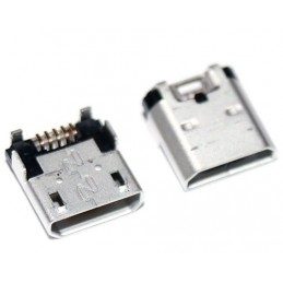 Gniazdo micro-USB 5pin+4nogi do SMD (NOKI LUMIA 520, 525, 620, 630, 635)