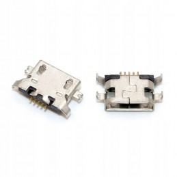 Gniazdo micro-USB 5-pin + 4-nogi do SMD / Myphone Hammer Energy