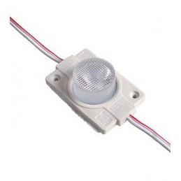 Moduł LED 40x30x8mm 2W 160lm biały ciepły 3000K IP65 12VDC/0,167A / YSM68711WW