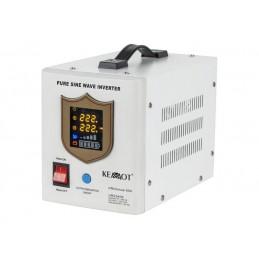 Awaryjne źródło zasilania 12V/230V 600W z przebiegiem sinusoidalnym i funkcją ładowania / 58-631