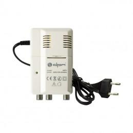 Wzmacniacz antenowy 230V z rozgał.24dB z zasilaniem DC / ANTAMP2