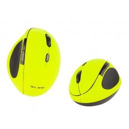 Mysz bezprzewodowa optyczna BLOW MB-50 limonk / 84-008