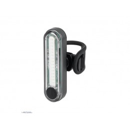 Lampa rowerowa tylna 6 trybów pracy LEDE COB 1W z akumulatorem / URZ0917