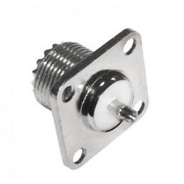 Gniazdo CB UHF-UC1 montażowe kwadratowe - GNI0275 - 1332