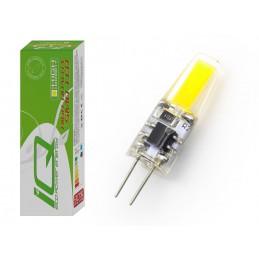 Żarówka LED G4 12V 3W 300Lm COB b.zimny 6000K (STOŻEK)