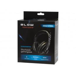 Słuchawki BLOW MDX100 nagłowne z mikrofonem / 32-798