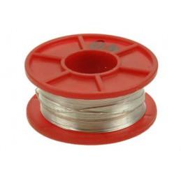 Srebrzanka 0,4mm drut Cu srebrzony 100g (88mb) / 01340