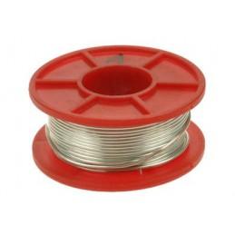Srebrzanka 1mm drut Cu srebrzony 100g (14mb) / 01343