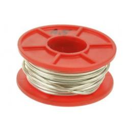 Srebrzanka 1,5mm drut Cu srebrzony 100g (6,3mb) / 05010