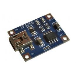 Ładowarka ogniw Li-ion moduł TP4056 5V 1A z gn. miNI-USB / 31383