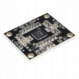 Mini wzmacniacz mocy stereo 2x15W PAM8610 klasa D zasilanie 6-12V