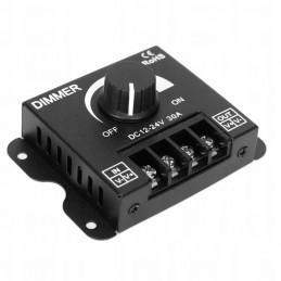 Sterownik do taśm LED ze ściemniaczem 12V-24V 30A 360W manual