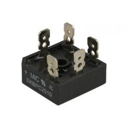 Mostek 3-faz. 25A/1000V SKBPC2510