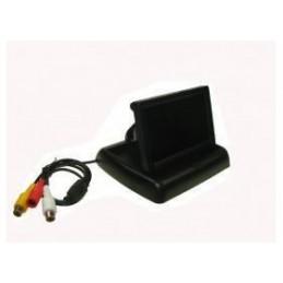 """Monitor do kamery cofania LCD 4,3"""""""" składany - 011368"""