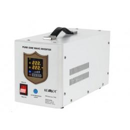 Awaryjne źródło zasilania 12V 230V 700W z przebiegiem sinusoidalnym i funkcją ładowania