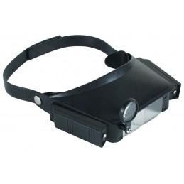 Lupa nagłowna+okular podświetlanie / NAR000007 aks