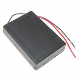 Koszyk baterii R3x3 III pokrywka  wyłącznik