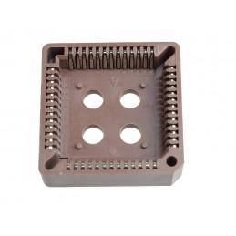 Podstawka układu scalonego PLCC 52P SMD przewlekana
