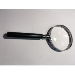 Lupa ręczna metal 65mm 4x / 312070 bi