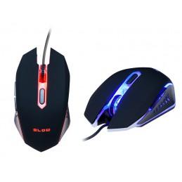 Mysz optyczna BLOW Adrenaline HURRICANE 2 USB dla graczy / 84-052