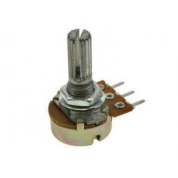 Potencjometr 100ohm/A liniowy (B100R) WH-148-1A-2 0,125W / 28326