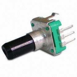 Encoder-impulsator 24 imp. L-20mm EC12SP-20 z wyłącznikiem