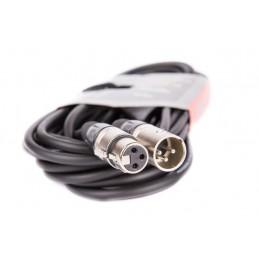 Złącze mikrofonowe XLR wt.3p/wt.3p 15m / 8002-15 VK