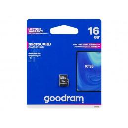 Karta SD 16GB micro GOODRAM class 10