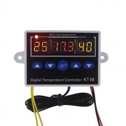 Sterownik temperatury KT88 12V (-19°C~99°C)