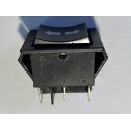 Przełącznik klawisz KCD2 do wyciągarki chwilowy 230V 16A 3-poz 2-tory 2xNO