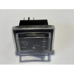 Przełącznik klawisz KR55/2 250V 15A w osłonie silikonowej do elektronarzędzi